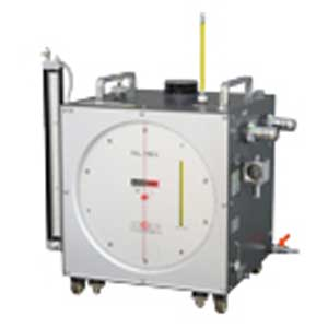 Calibration wet gas meter